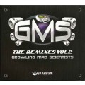 CD G.M.S. - Growling Mad Scientists. The Remixes vol. 2 /Psychedelic trance  (digipack)